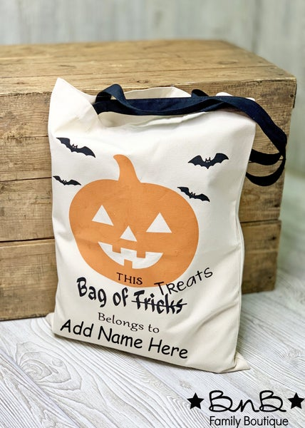 Personalized Halloween Bags *Final Sale*