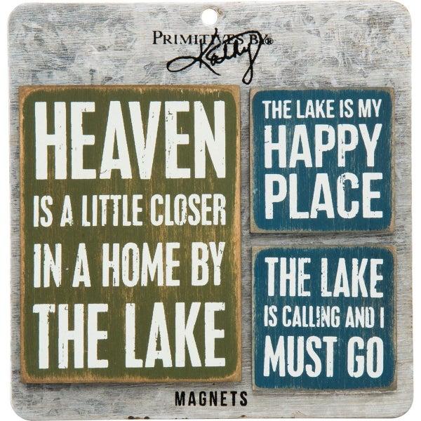 Lake 3pc Magnet Set *Final Sale*