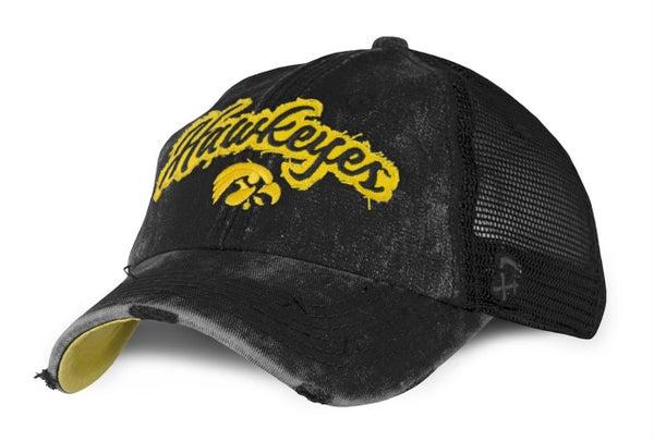 Hawkeyes Acid Wash Trucker Hat *Final Sale*