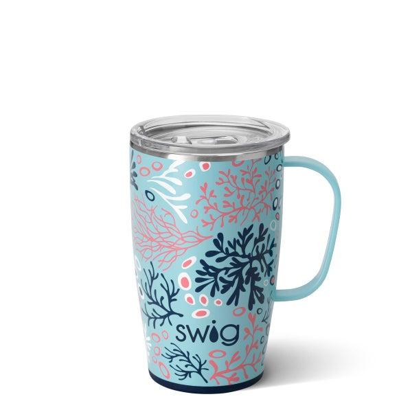 Swig Coral Me Crazy 18oz Mug