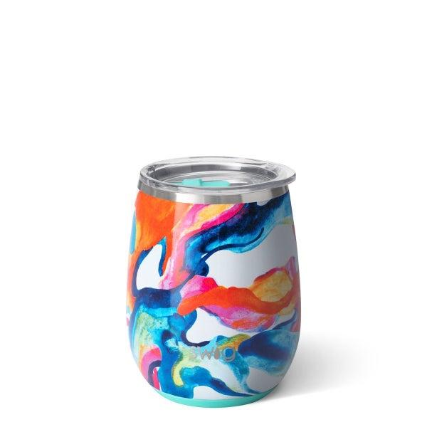Swig Color Swirl 14oz Stemless Wine Cup