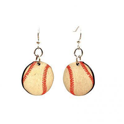 Vintage Baseball Earrings *Final Sale*