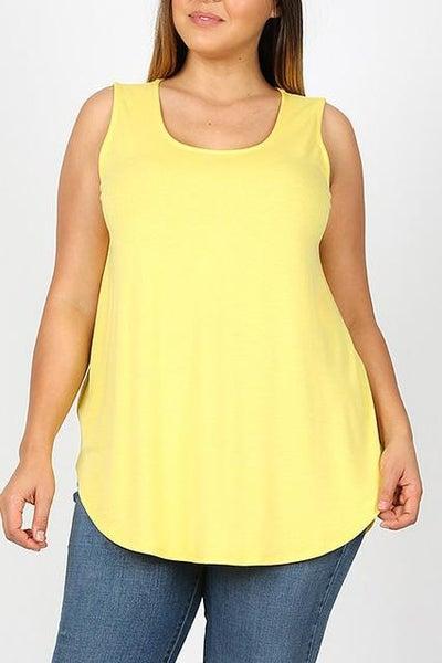 Yellow Essential Tank - Women *Final Sale*
