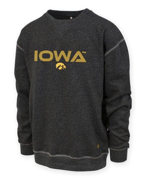 Iowa Hawkeyes Crew Sweatshirt - Adult