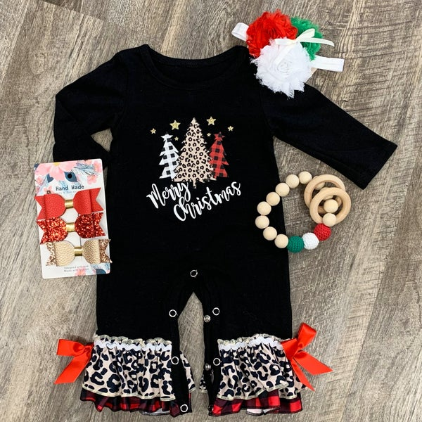 Merry Christmas Romper For Baby
