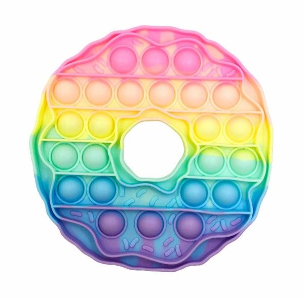 Tie Dye Donut Fidget Popper Toy *Final Sale*
