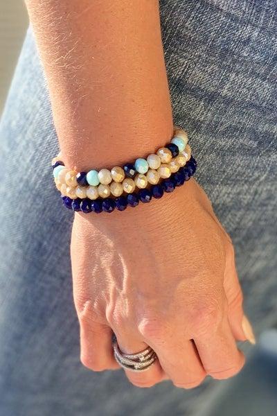 Blue Sea Bracelet Stack For Women *Final Sale*