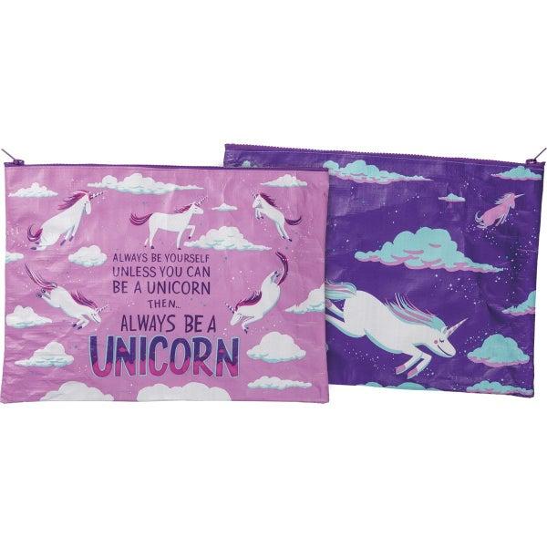 Always Be A Unicorn Zipper Pouch