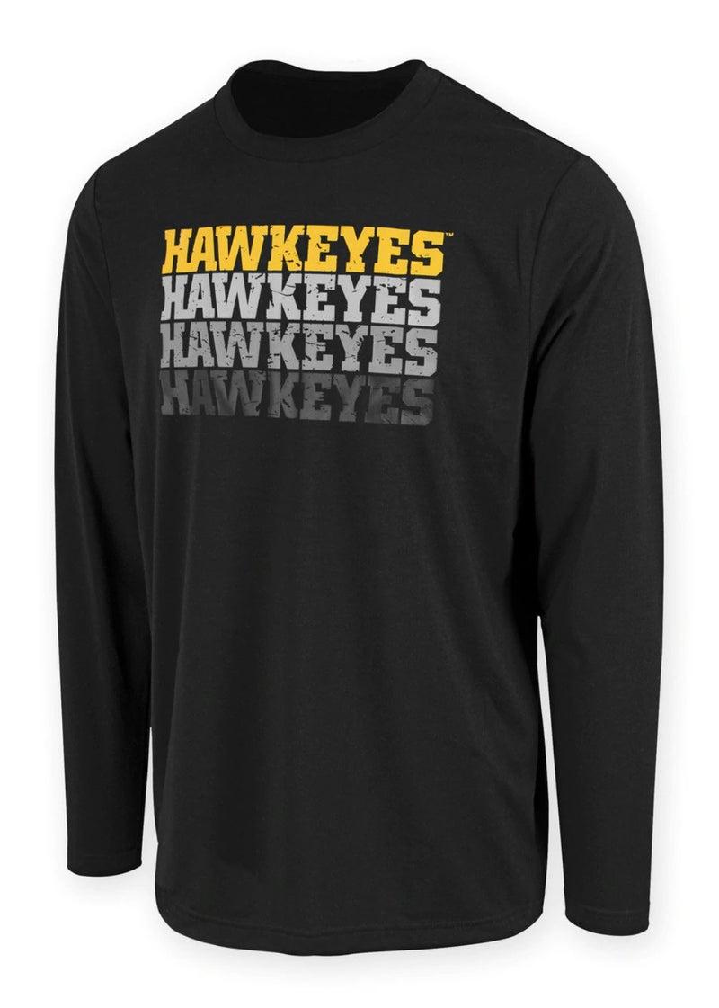 Hawkeyes On Repeat Long Sleeve Tee - Unisex