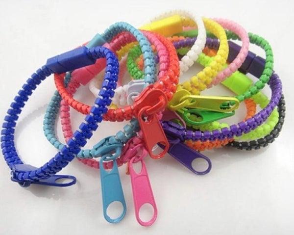 Hip Zip Zipper Bracelets For Kids *Final Sale*