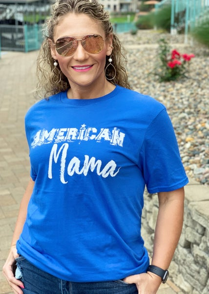 American Mama Graphic Tee For Women