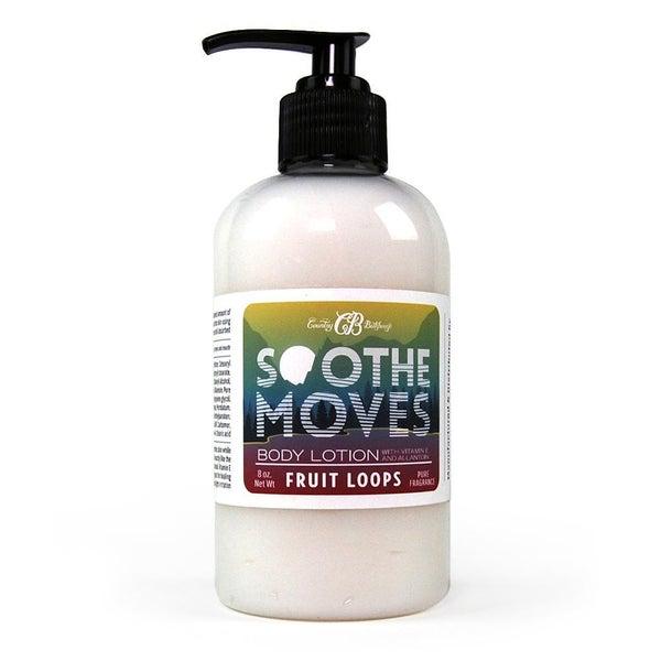 Fruit Loops Soothe Moves Body Lotion By Country Bathhouse *Final Sale*