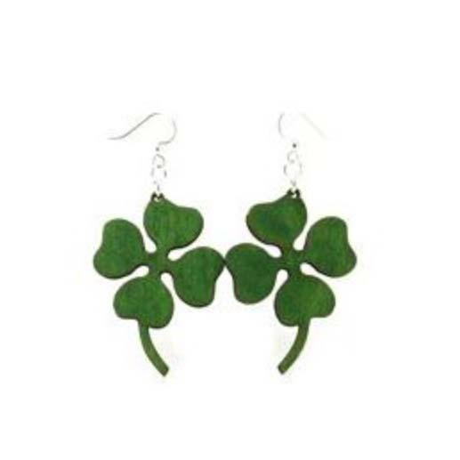 Four Leaf Clover Earrings *Final Sale*