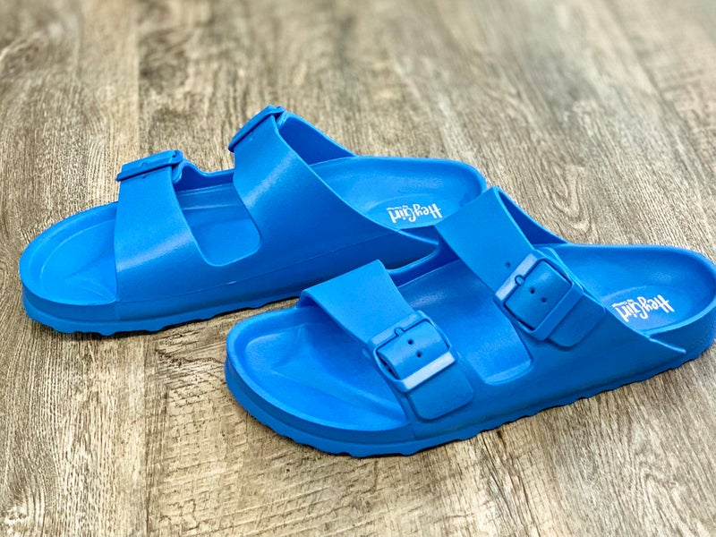 Corkys Blue Waterslide Sandal