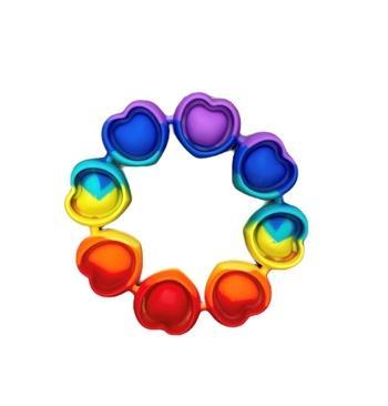 Rainbow Heart Crazy Snaps Bangle Toy *Final Sale*