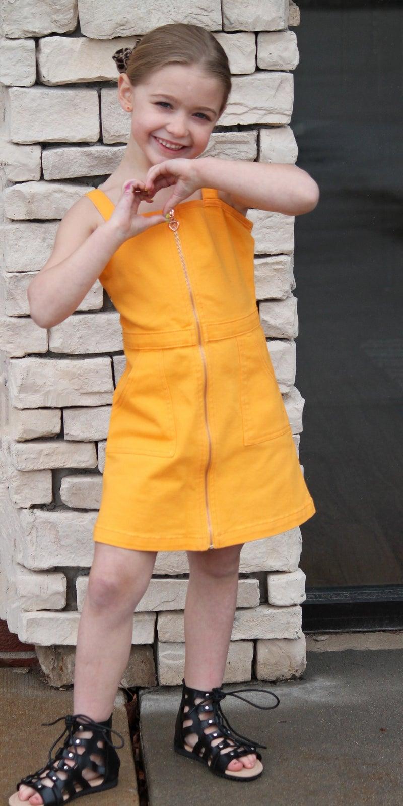 Honey Denim Dress - Girls *Final Sale*
