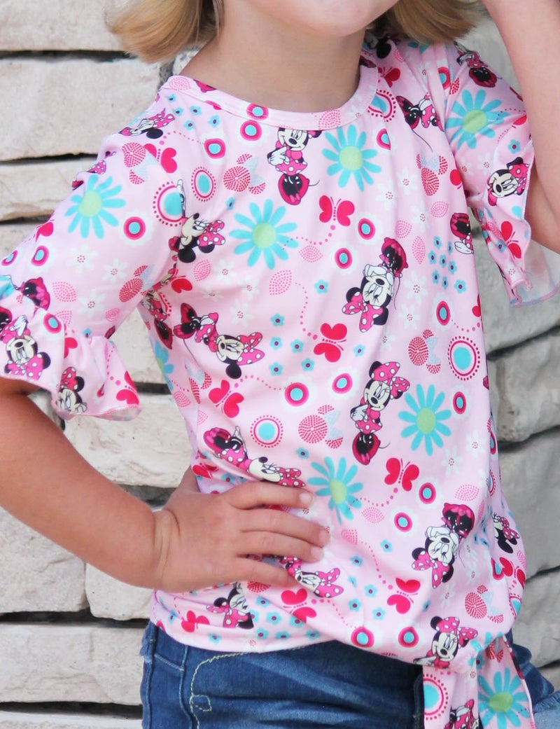 Minnie Knotted Top *Final Sale*