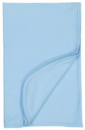 Baby Blue Premium Jersey Blanket