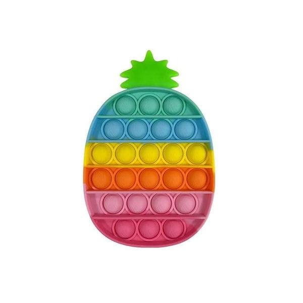 Rainbow Pineapple Fidget Popper *Final Sale*