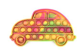 Neon Tie Dye Car Fidget Popper *Final Sale*