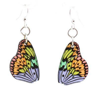 Brilliant Butterfly Wing Earrings *Final Sale*