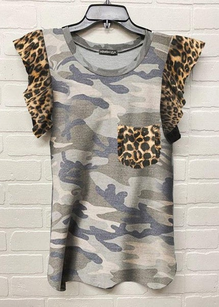 Camo & Animal Print Tank For Women *Final Sale*