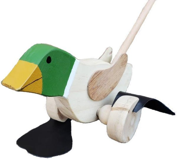 Vintage Walking Duck Stick Toy *Final Sale*