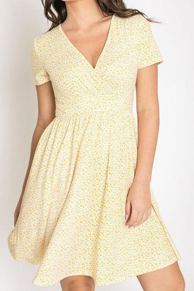 Dainty Floral Dress For Women