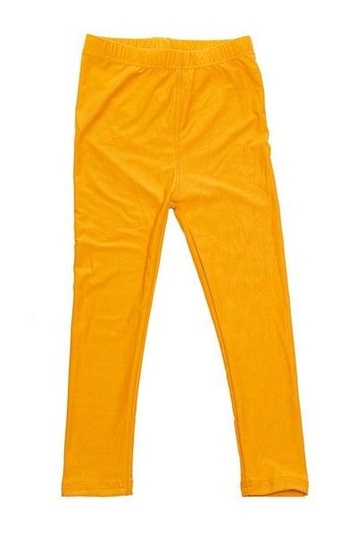 Mustard Leggings For Girls