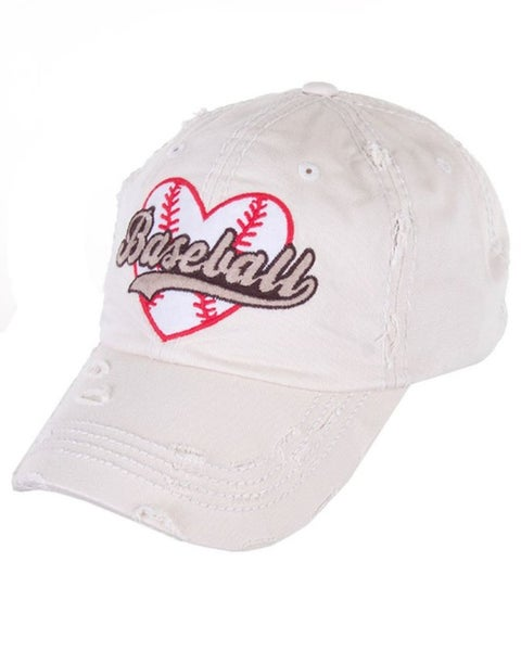 Vintage Baseball Hat For Women *Final Sale*