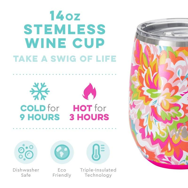 Swig Hawaiian Punch 14oz Stemless Wine Cup