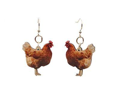 Chicken Earrings *Final Sale*