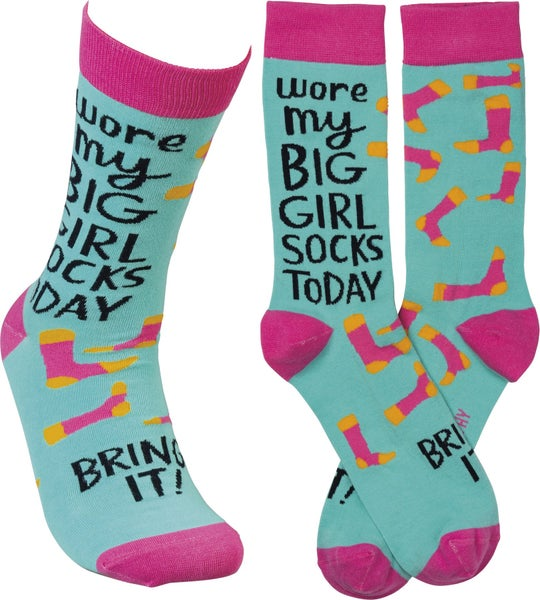 Wore My Big Girl Socks Today For Adults *Final Sale*