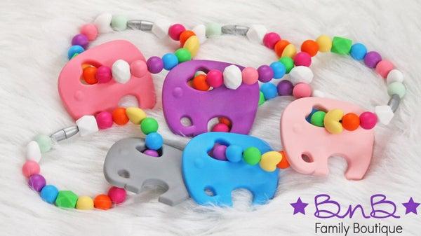 Elephant Teething Bracelet *Final Sale*