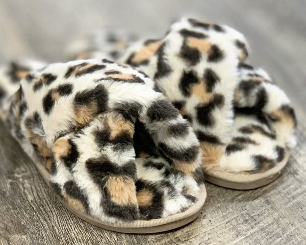 Animal Print Slippers For Women *Final Sale*