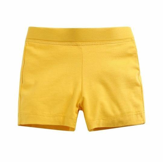 Yellow Shorties For Girls *Final Sale*