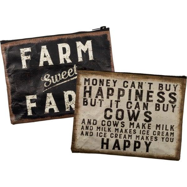 Farm Sweet Farm Zipper Pouch
