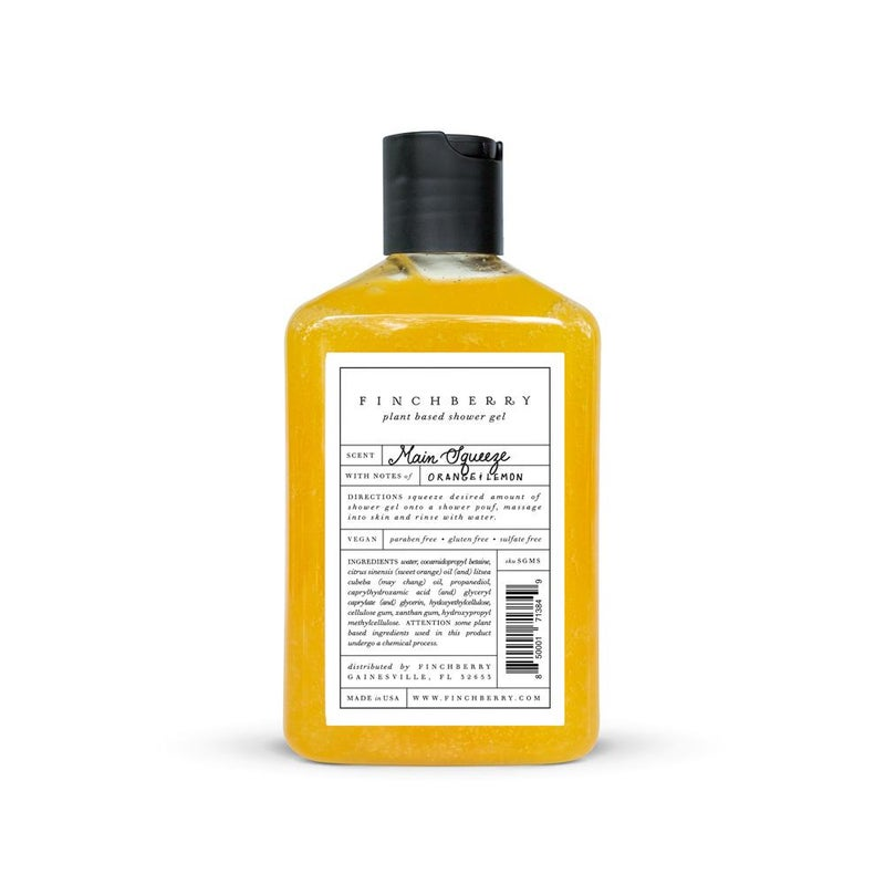 FinchBerry Main Squeeze Shower Gel *Final Sale*