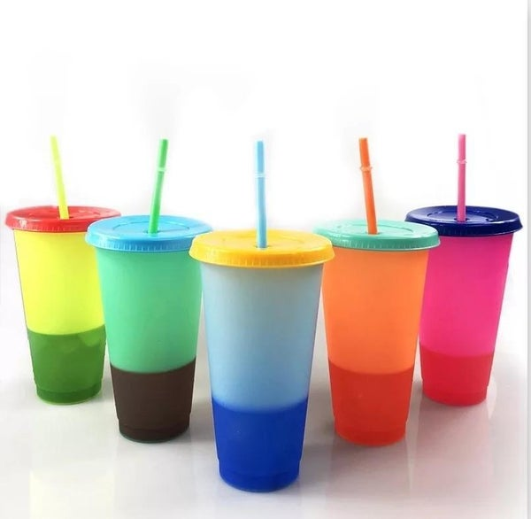 Reusable Color Changing Cups *Final Sale*