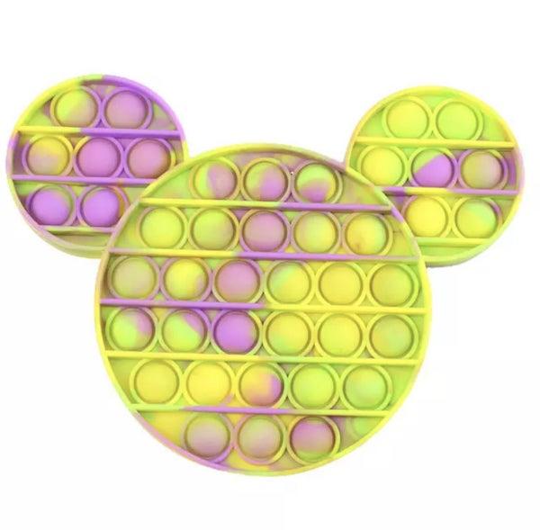 Purple & Yellow Mickey Fidget Popper *Final Sale*