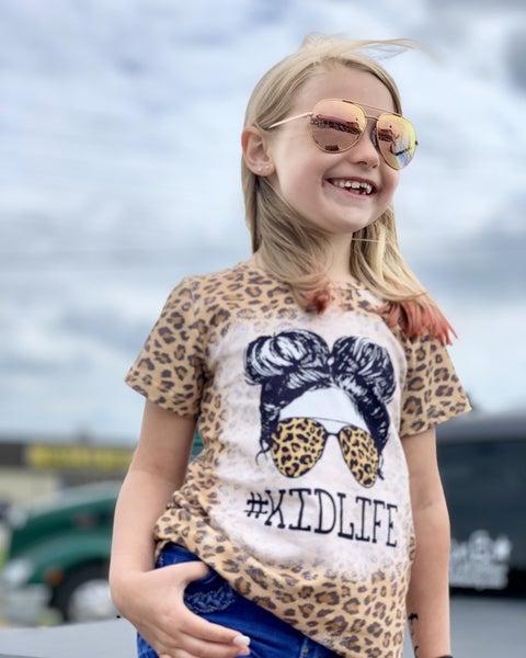 #KidLife Animal Print Top For Girls