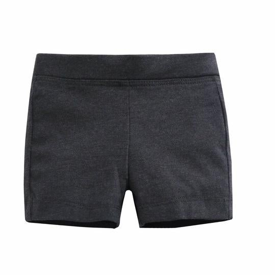 Charcoal Shorties For Girls *Final Sale*