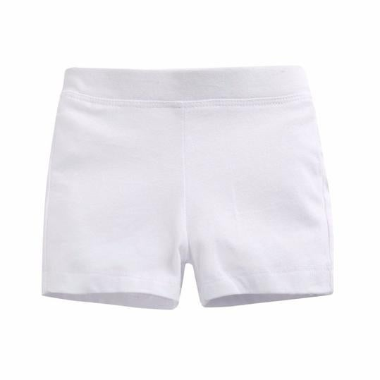 White Shorties For Girls *Final Sale*