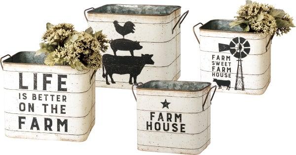 Farm House Bin