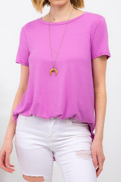 Everyday Orchid Top For Women