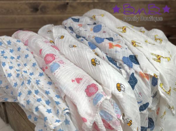 Muslin Baby Blanket *Final Sale*