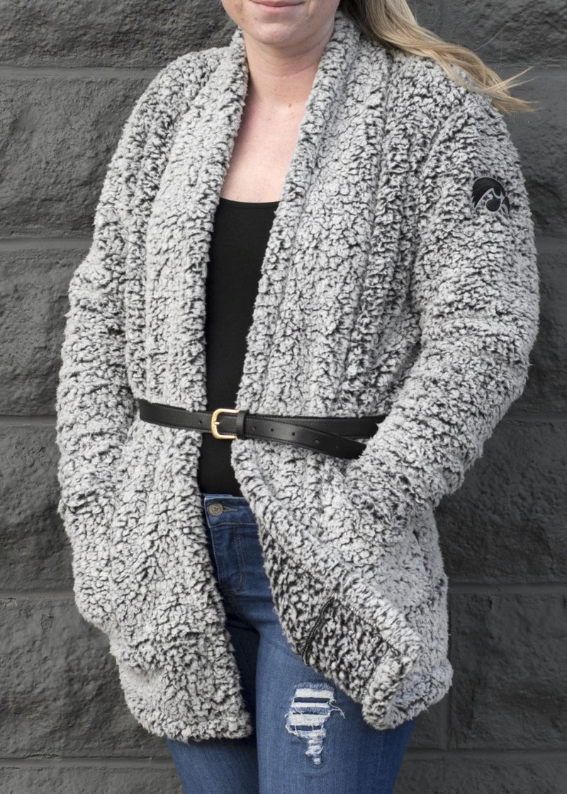 Iowa Sherpa Wrap For Women