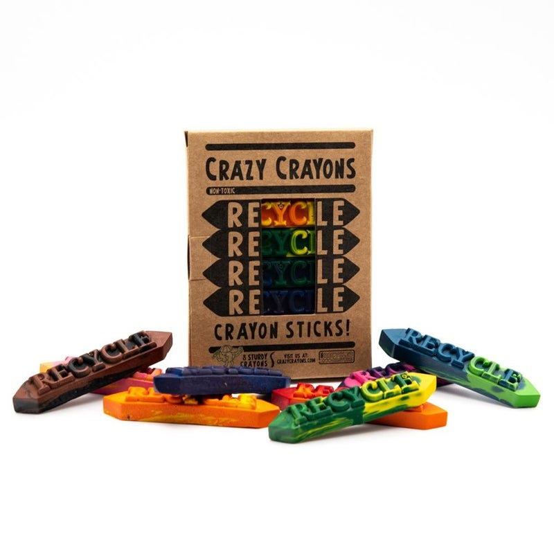Multi Color Crazy Crayon Sticks Set *Final Sale*