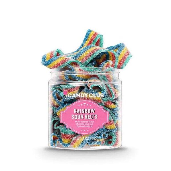 Rainbow Sour Belts - Candy Club *Final Sale*
