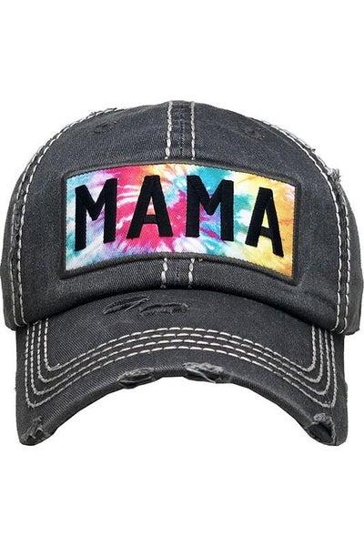 Mama Tie Dye Trucker Hat For Women *Final Sale*